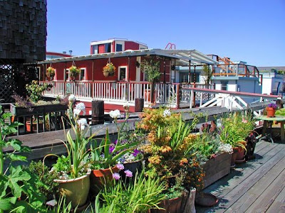 Casa Flotante en Sausalito.