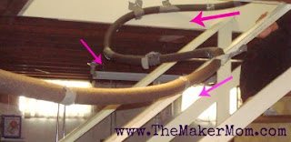 how to make a marble roller coaster