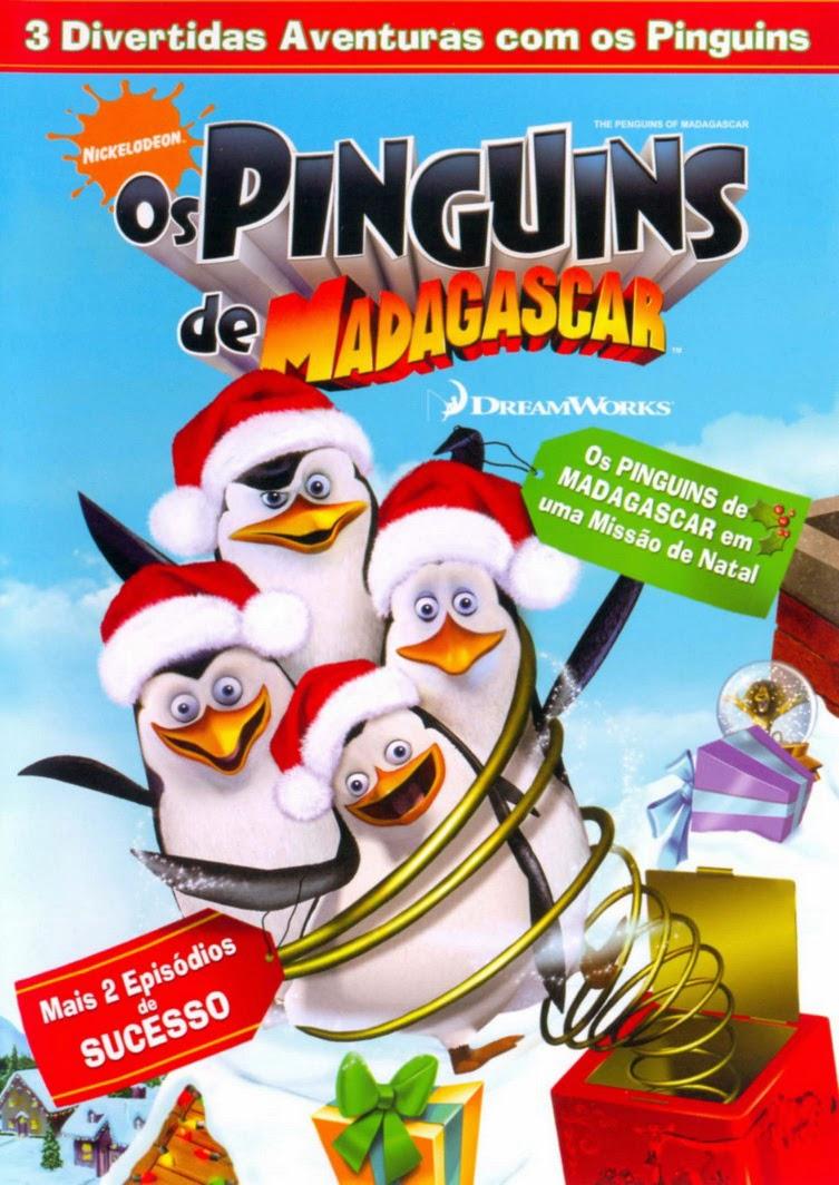 Os Pinguins de Madagascar: Missão de Natal – Dublado (2005)