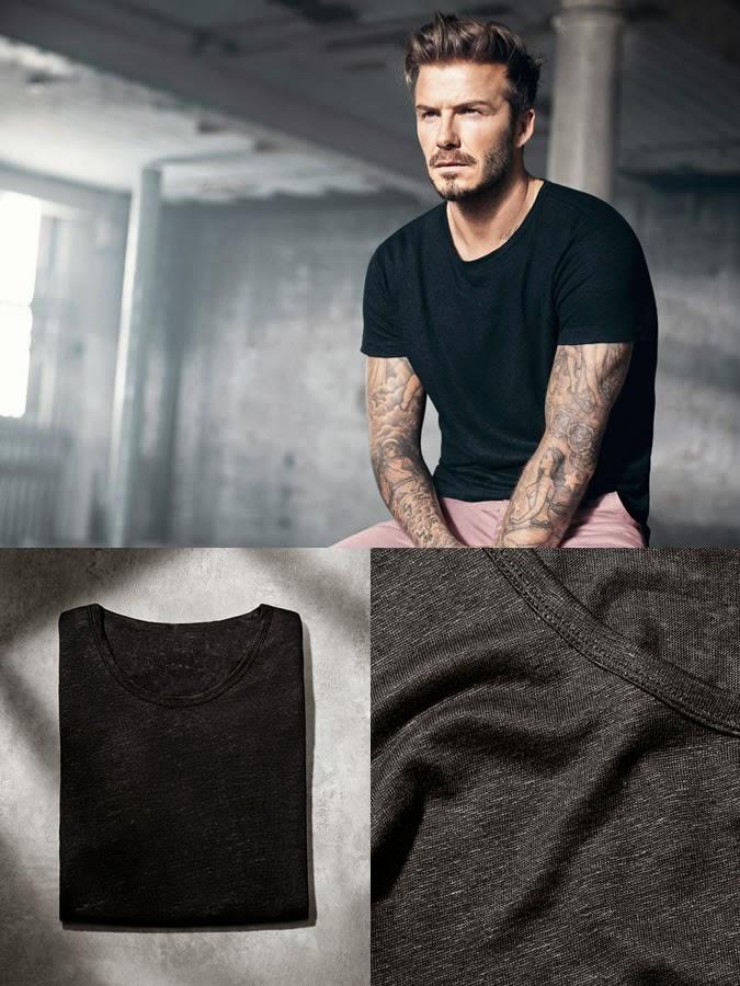 H&M Modern Essentials Menswear Spring 2015 Campaign featuring David Beckham