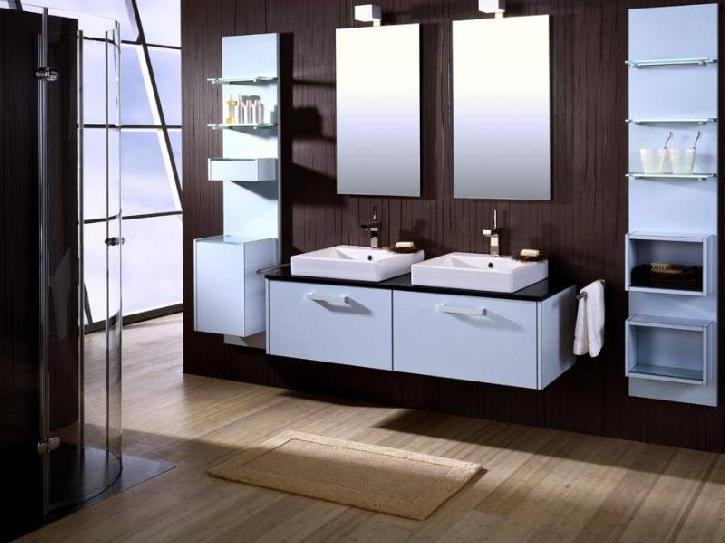 c mo decorar un ba o moderno decorar casa y hogar. Black Bedroom Furniture Sets. Home Design Ideas