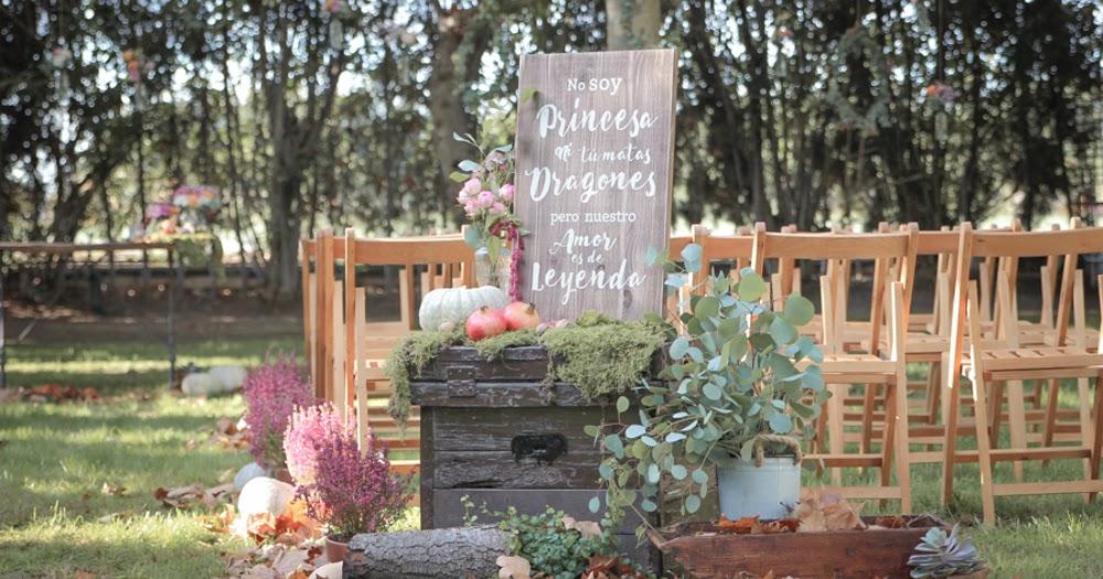 Amor de leyenda una boda de oto o en alquer a el for Amor en el jardin