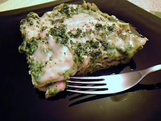 lasagne al salmone e rucola