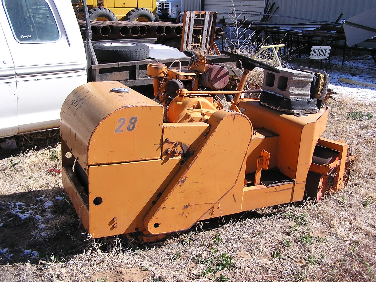 Essick vr30re vibratory roller pictures of my roller from 2011 - Essecke roller ...