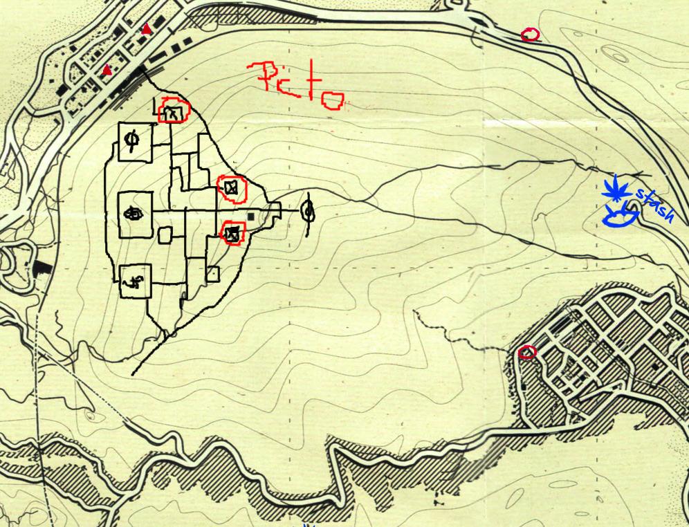 Где находится карта в гта 5
