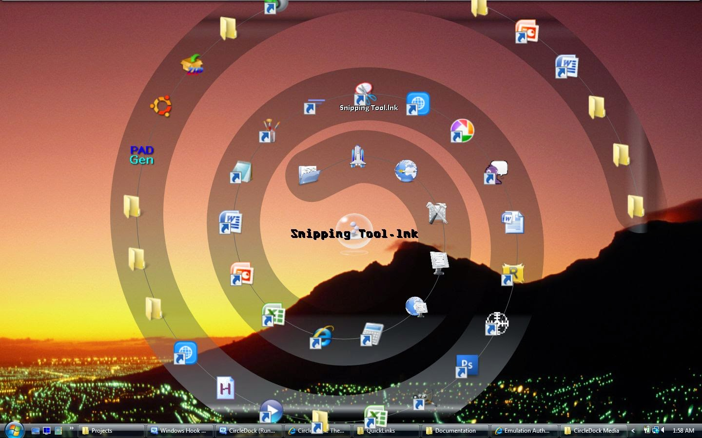 Free Download New Circle Dock