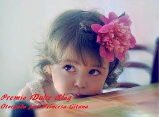 PREMIO recibido de Princesa Gitana!