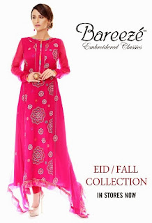 Bareeze Winter Collection Party Wear