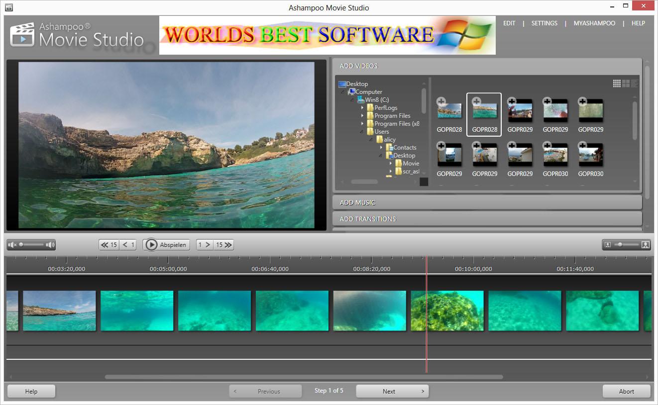 Best movie software free zebra