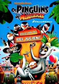 Os Pinguins de Madagascar: Feliz Dia do Rei Julien! Dublado 2011