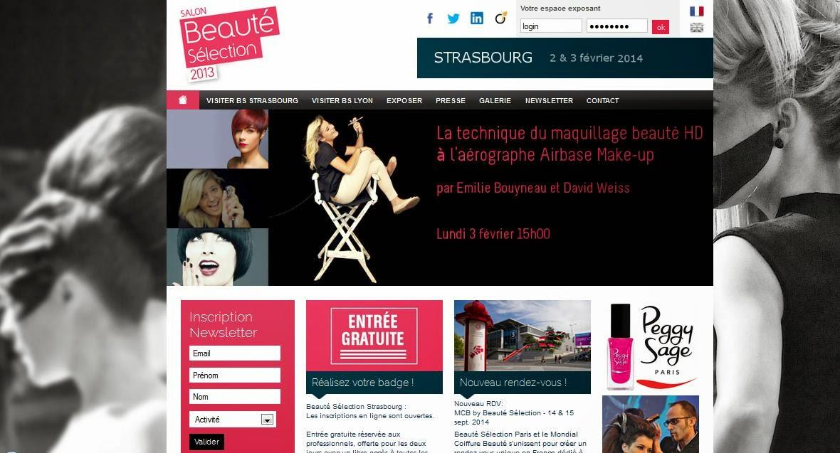 A la d couverte des sites internet beauteselection le for Salon virtuel de la franchise