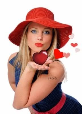 imagenes románticas de una joven
