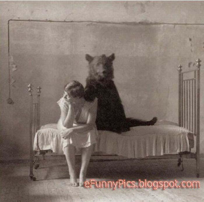 Animal and Woman