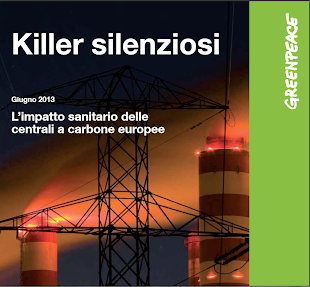 GREENPEACE:LE CENTRALI A CARBONE KILLER SILENZIOSI