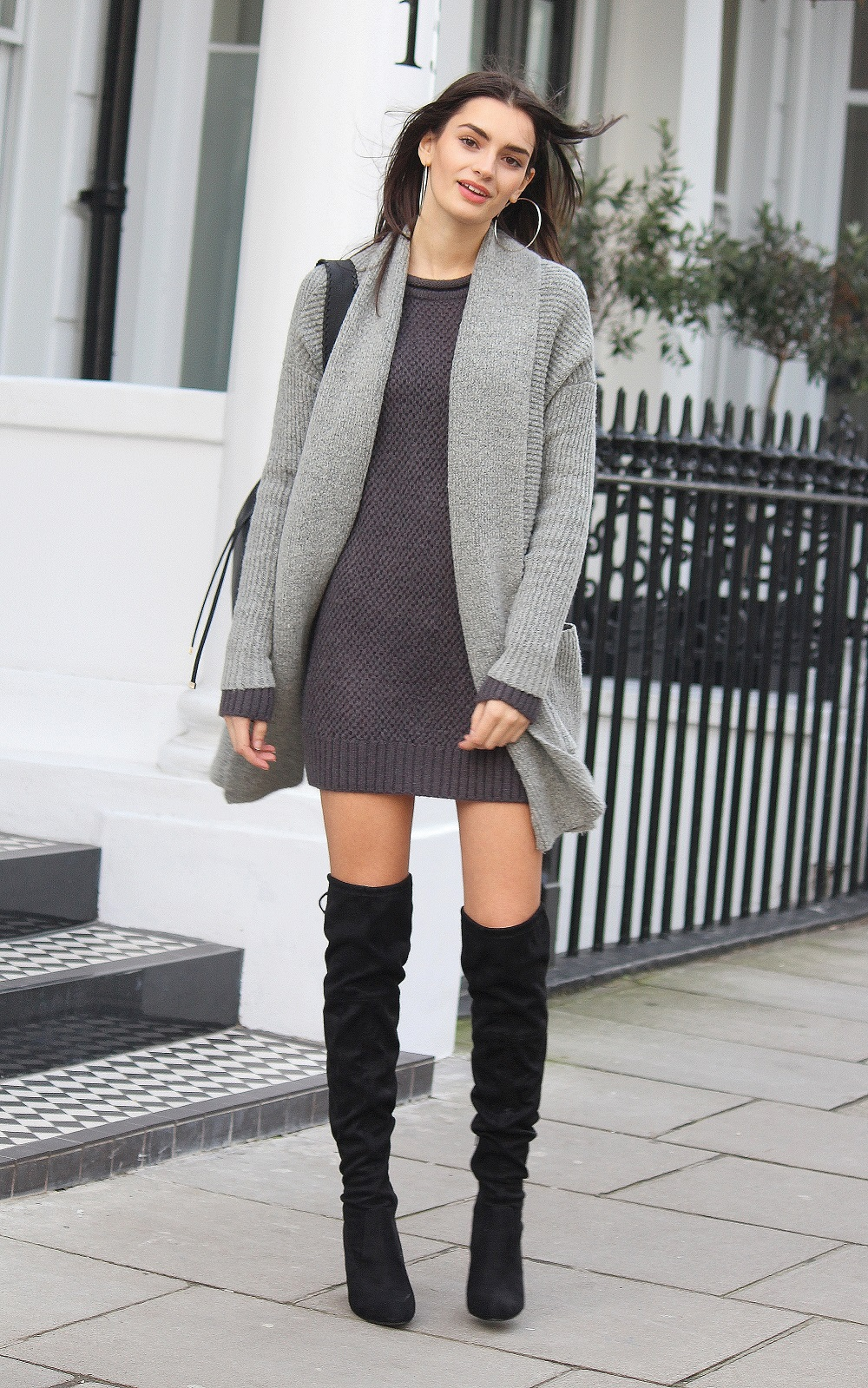 peexo fashion blogger layering knitwear