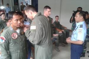 TNI AU-US Air Force latihan tempur bersama