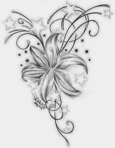 Tatuajes para Mujeres, Flores, parte 5