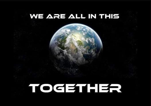 We are all in this together!