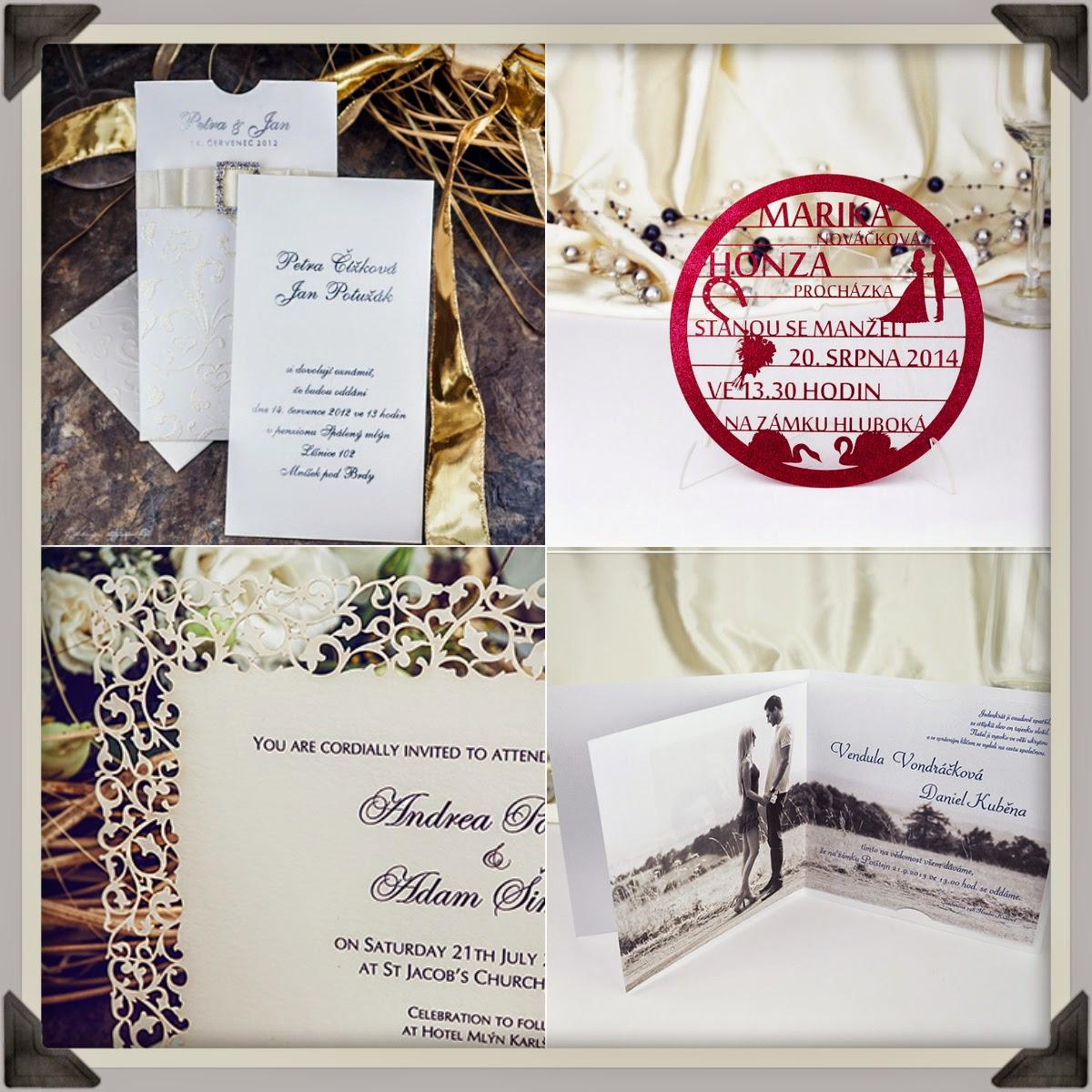 Svatební oznámení z katalogu a nebo na míru?