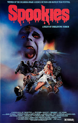 spookies movie poster 1986
