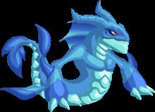 imagen de mersnake de monster legends
