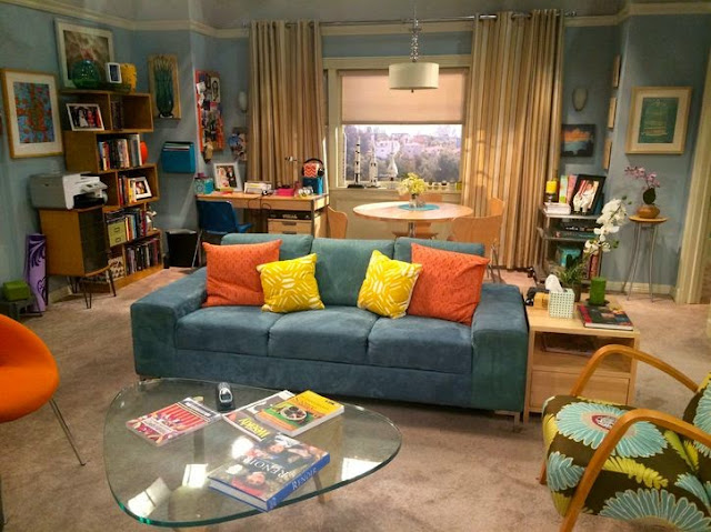 living room / the big bang theory / TBBT