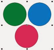 Cara Seleksi Objek Yang di Group pada Coreldraw