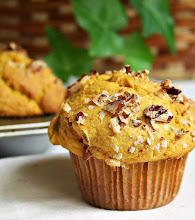 Fluffy pumpkin muffins . . .