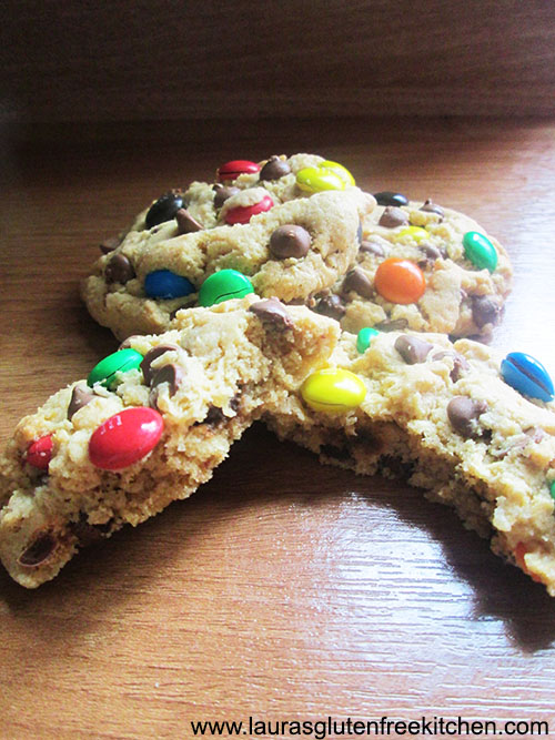 Gluten Free Monster Cookies