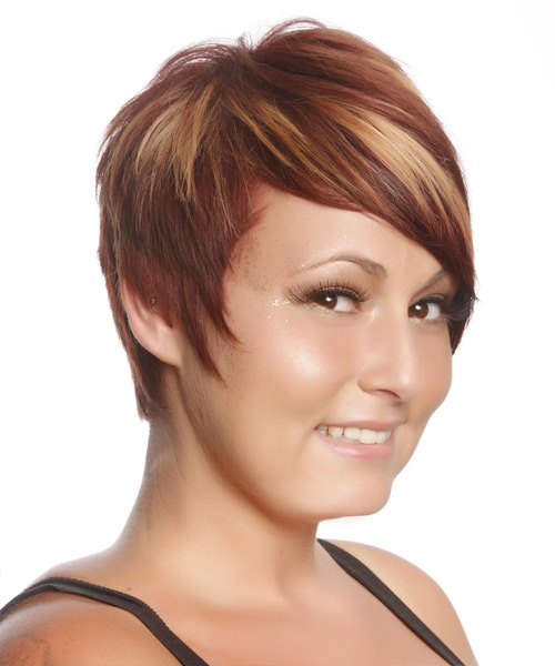 Dewi Image Casual Short Straight Hairstyles