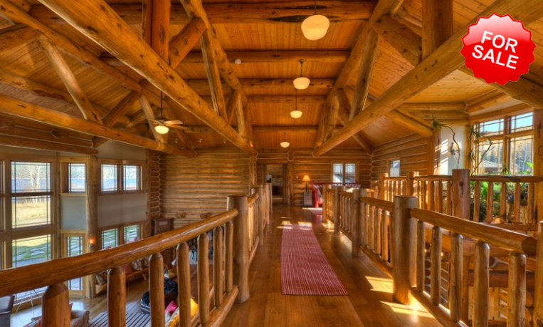 Luxury log homes and luxurious living luxury log homes for Custom luxury log homes