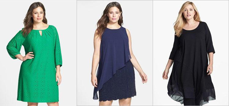 Фасон платье для полных женщин