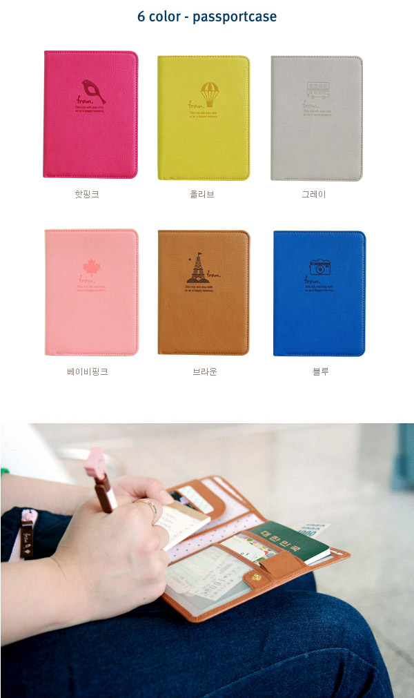 Trendy Gifts Collection Mini Journey Passport Case Rm21 Pcs