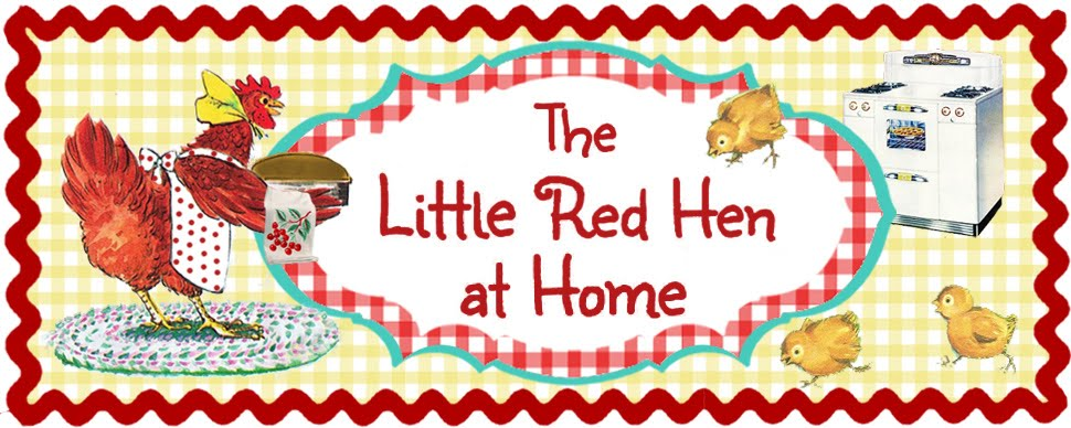 The Little Red Hen At Home