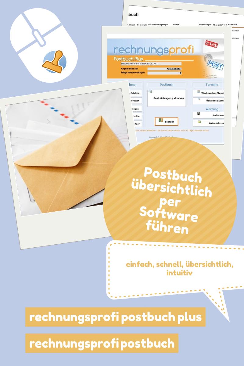 Posteingangsbuch und Postausgangsbuch führen - Sinn oder Unsinn?