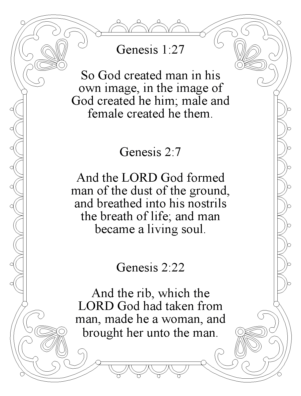 Christmas poems for church programs - Childrens Church Memory Verse Goals Genesis