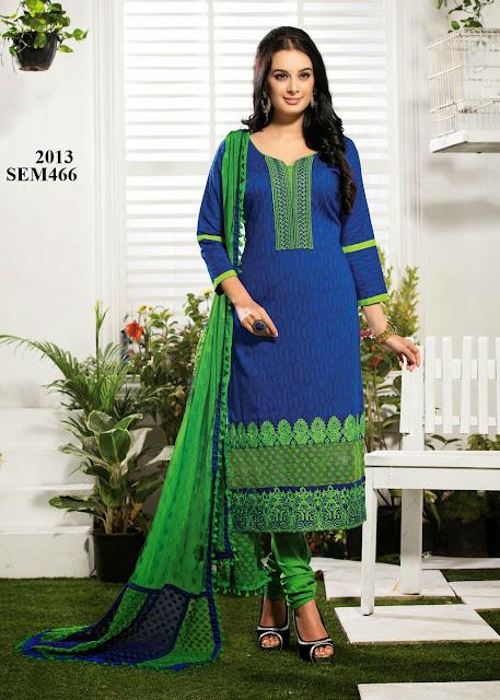 Latest Pure Cotton Embroidered Salwar Kameez – Wholesaler