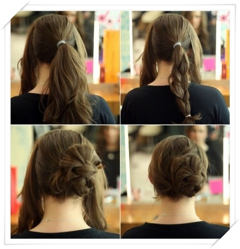 Updos for long hair -2015