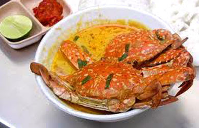 Masakan Kare Rajungan