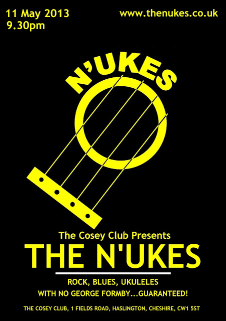 Nantwich N'Ukes gig poster