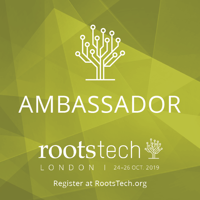 RootsTech 2019 London Ambassador