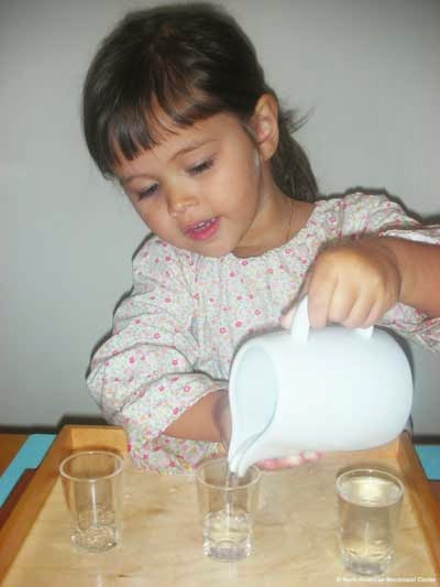 namc studying montessori absorbent mind ch 16 conscious to unconscious worker practical life skills