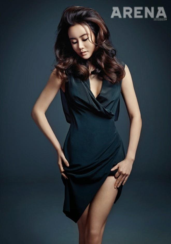 Hwang Woo Seul Hye - Arena Homme Plus Magazine February Issue 2014