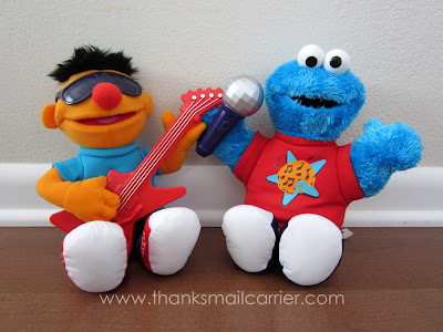 Let's Rock Ernie and Cookie Monster review