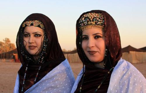 Beautiful Women from the Great Sahara