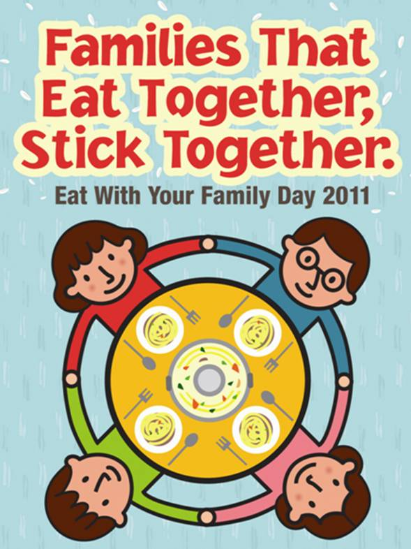 Welcome: Eat With Your Family Day