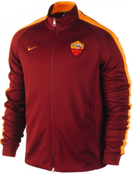 Jaket As Roma Home N98  Terbaru Nike Official 2014 - 2015 Merah