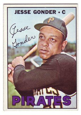 Jesse Gonder 1967 baseball card
