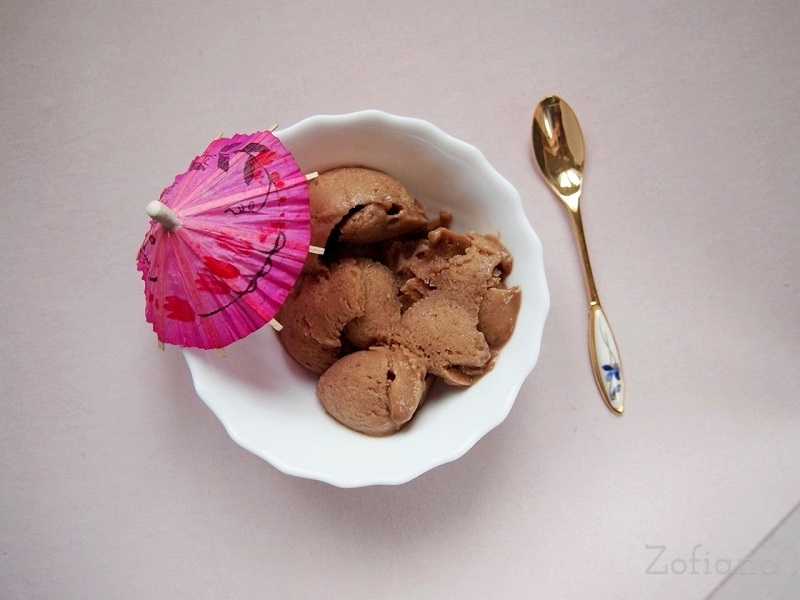 Banana Chocolate Ice Cream