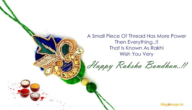 A small piece of Thread has more power then Everything Happy Raksha Bandhan